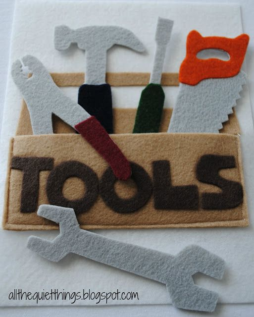 All The Quiet Things: Quiet Book - Boys - There are some GREAT nearly-no-sew patterns on here!