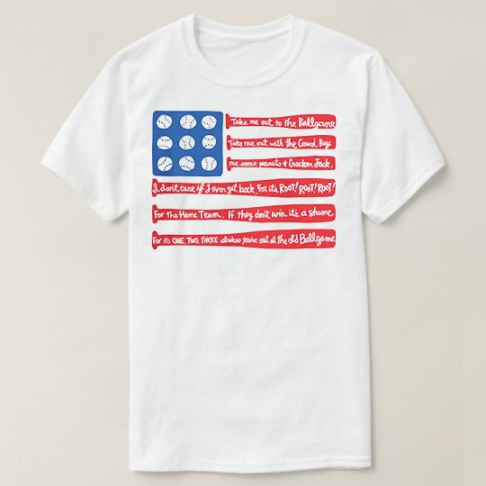Flag Baseball Custom Shirts