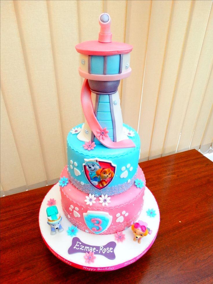Girly Paw Patrol Cake xMCx