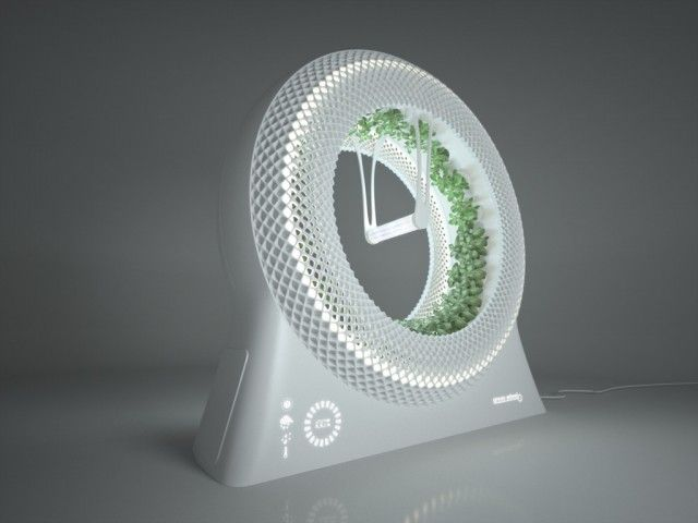 Système hydroponique – The Green Wheel Rotary Garden