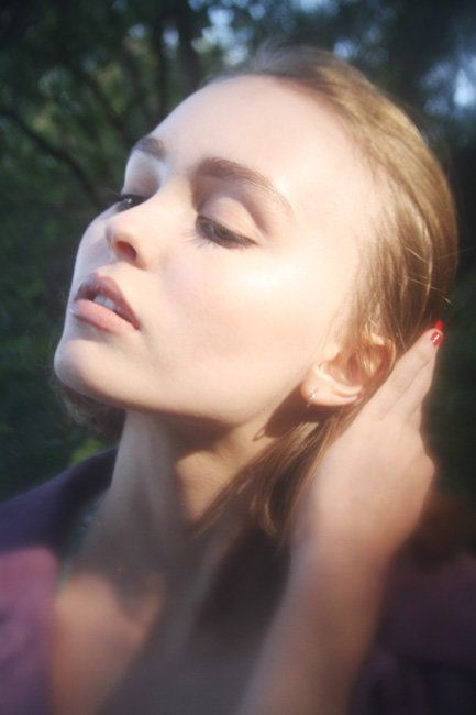 Introducing: Lily-Rose Depp, Shot By Dana Boulos   Fashion Magazine   News. Fashion. Beauty. Music.   oystermag.com