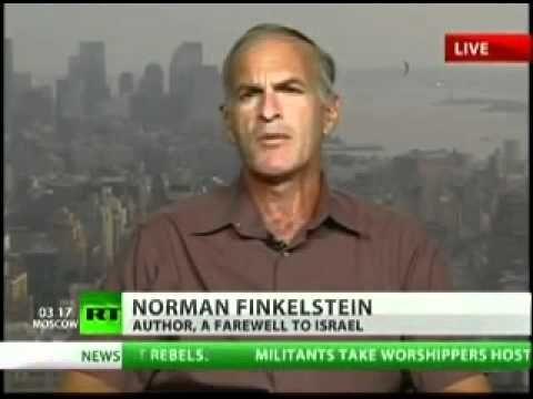 Best of Norman Finkelstein, Jewish Heavyweight in Anti-Zionism Part 6 of 8