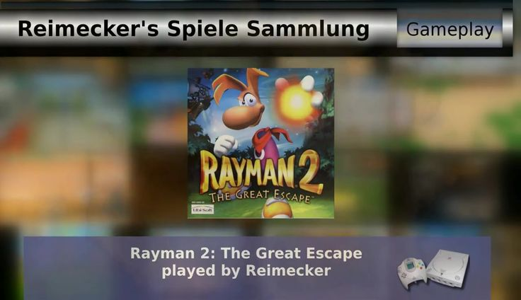 Gameplay : Rayman 2: The Great Escape [Dreamacast]