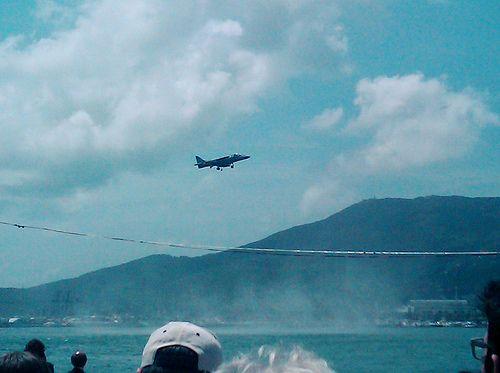 nice Festa della Marina Harrier