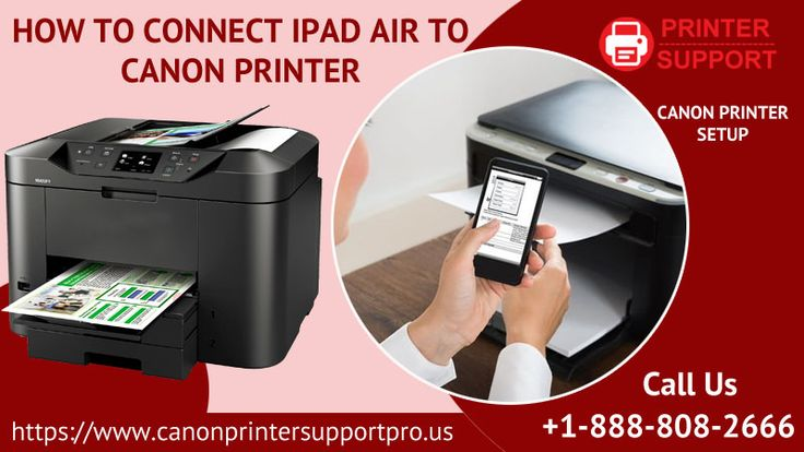 how to connect canon printer to iphone without wifi