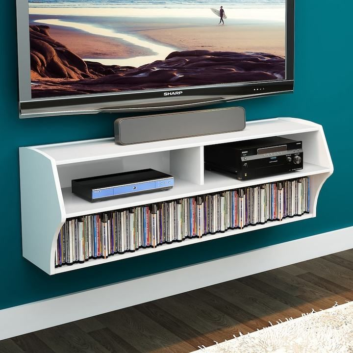 best 25 wall mounted tv ideas on pinterest mounted tv Floating Wall Shelf for TV TV Wall Mounts with Shelves