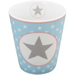 Krasilnikoff Happy Mug - Blue Big Star