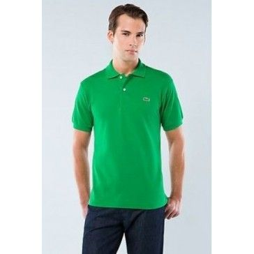 Men Polo Shirt Short Sleeve, Green