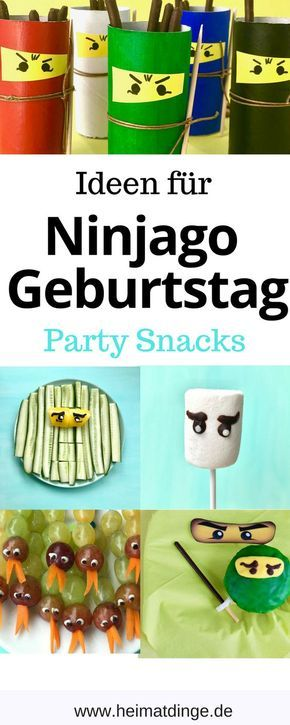 Photo of Ninjago Children's Birthday: Cool Ideas for a Successful Party