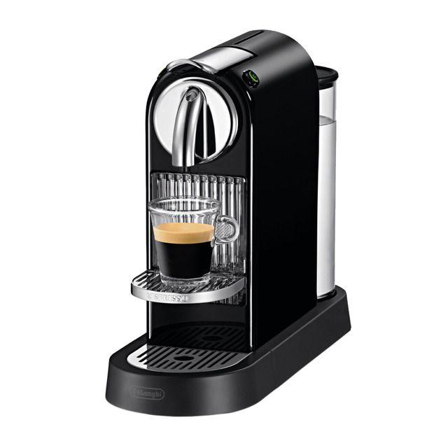Cafetera Espresso Automatica De Longhi Citiz En167 B Para Capsulas