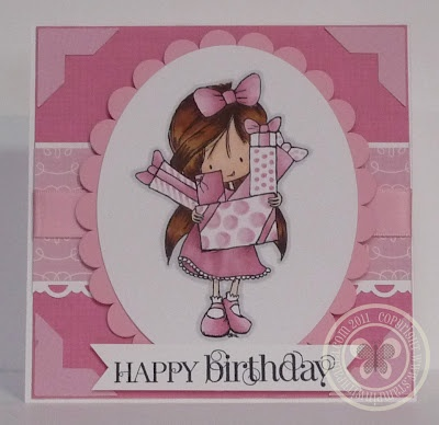 Stampin with Paula: June 2012, so cute for a little girl!
