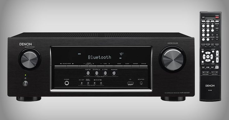 Denon AVR-S510BT A/V receiver can be the heart of your home theater for $229