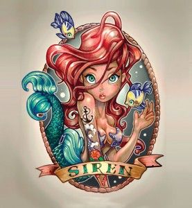 ...de criança maloqueira. Ariel