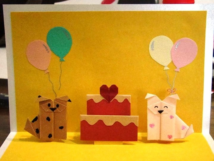 34 best DIY images – How to Make Origami Birthday Cards