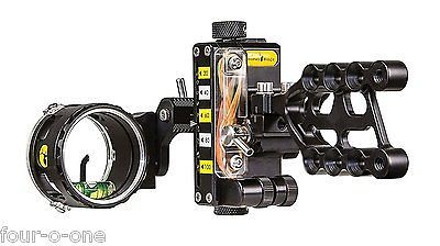 Trophy Ridge REACT ONE PRO Single 1 Pin Bow Sight Black RH AS701R19