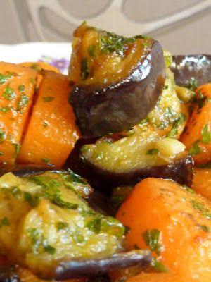 Kiskonyhám ízei: Fokhagymás, padlizsános sárgarépa