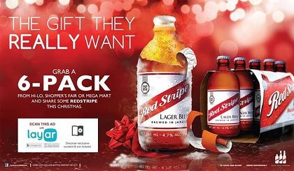 @Layar was used in several campaigns by the iconic Jamaican beer Red Stripe. Scan the images and drink responsibly!