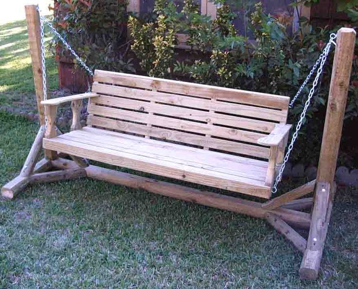 repurpose our porch swing idea - Front Porch Swing