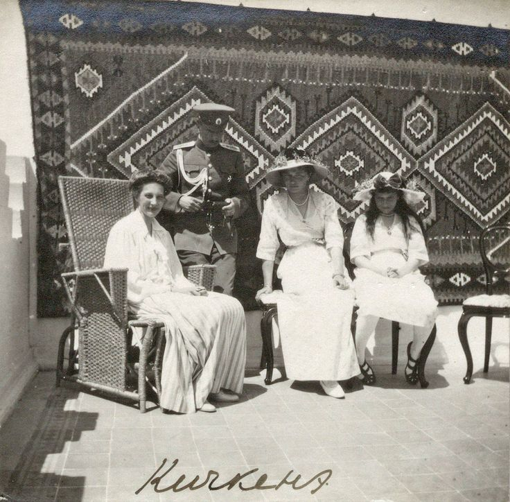 Tatiana Konstantinova, Olga and Anastasia Nikolaievna