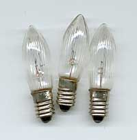 Replacement Bulbs for 7-Candle Candlestick