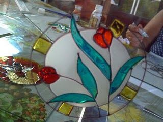 Decoracion con vitraux decorar, contiene formula para pasta relevo y pintura vitraux caseras