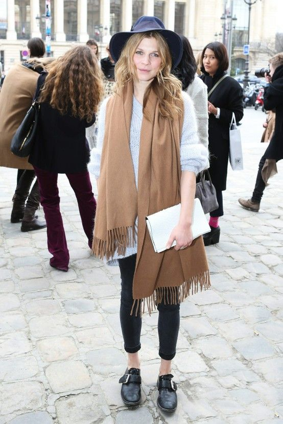 Clemence Poesy // A Parisian muse