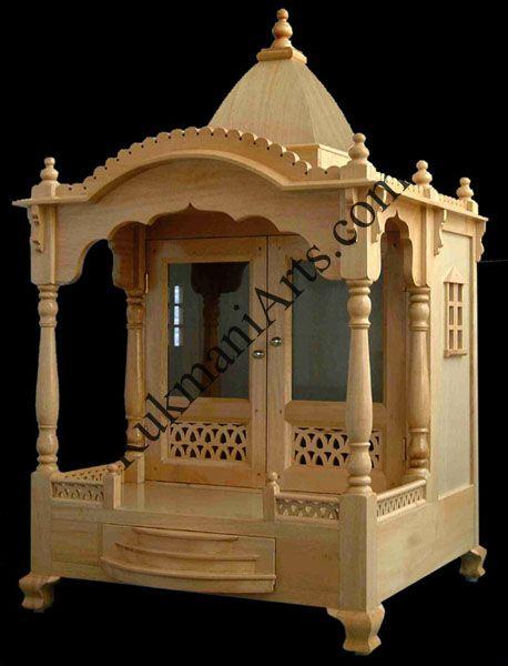 Nice Wooden Carved Teakwood Temple / Mandir, Wooden Temple Wooden Temple / Mandir  Home Indian Design Small Wooden Mandir Hand Carved Teakwood Home Temple  Designs ... Part 23