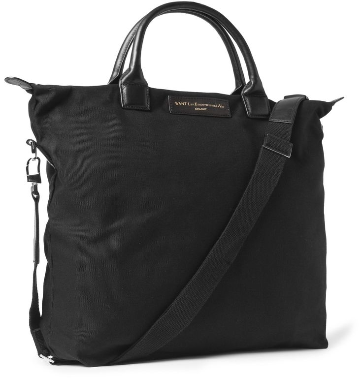<a href='http://www.mrporter.com/mens/designers/want_les_essentiels'>WANT LES ESSENTIELS</a>'s tote bag is crafted from study organic cotton-canvas. So, not only can you be confident in its green credentials but you can also be safe in the knowledge that this hard-wearing piece will stay by your side for years to come. Featuring four deep internal pockets, this leather-trimmed accessory has plenty of room to compartmentalise all of life's essentials.