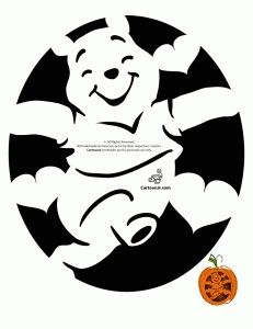 winnie the pooh pumpkin carving templates - winnie the pooh pumpkin carving templates pinterest