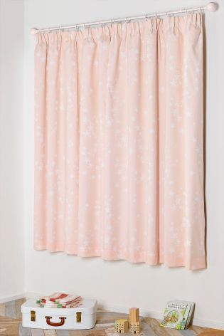 Buy Sleepy Stars Blackout Pencil Pleat Curtains from the Next UK online shop