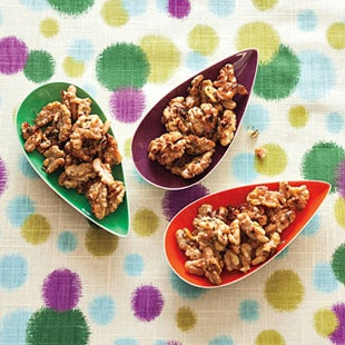 Rosemary Roasted Walnuts | Snacks | Pinterest