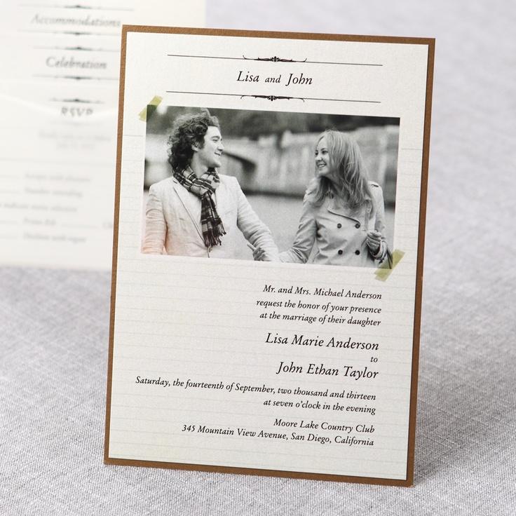 154 Unique Wedding Invitations Elegant Stylish