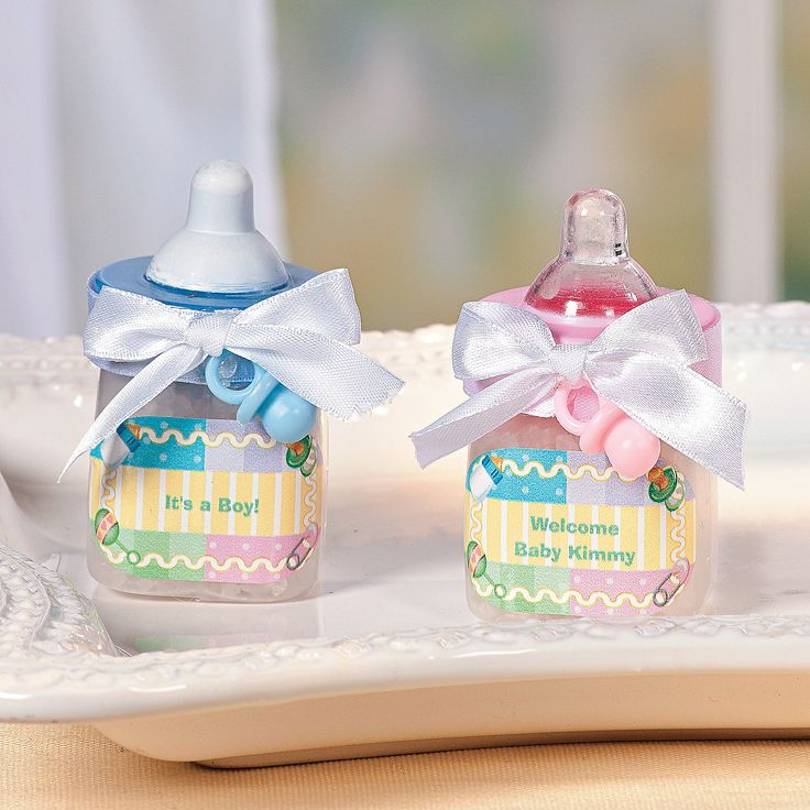 Baby Bottle Favors   OrientalTrading.com