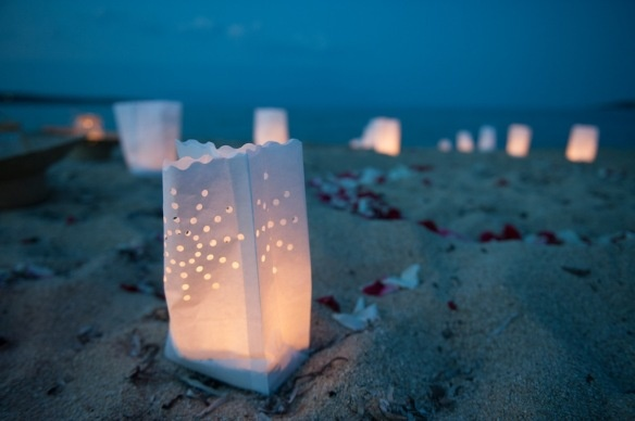Wedding Chalkidiki Greece - I love the candle bags