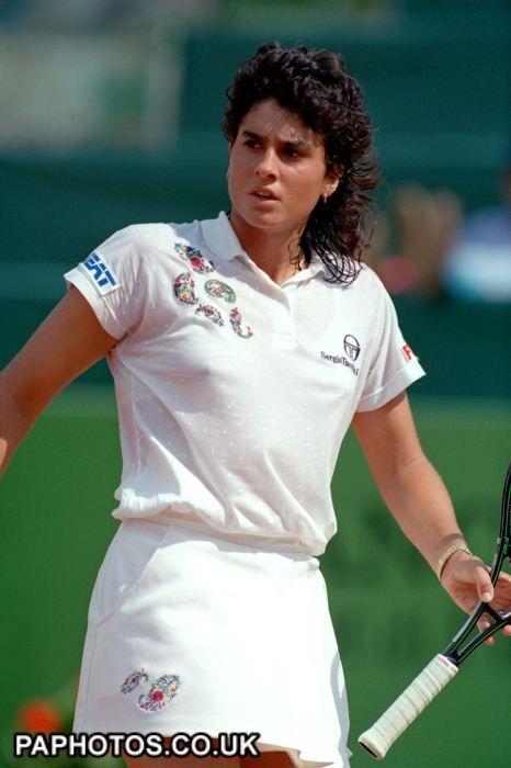 Tennis - Argentinian Star Player Gabriela Sabatini -7941