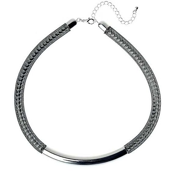Silver Mesh Chain Necklace from Melzbeads.  http://www.melzbeads.com.au