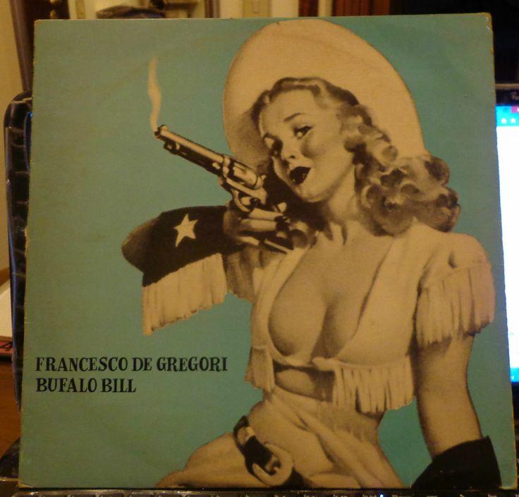 FRANCESCO DE GREGORI LP BUFALO BILL 1976 Prima stampa