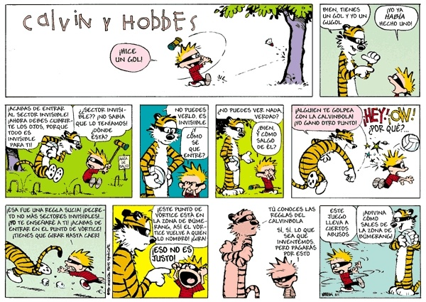 Calvinball!