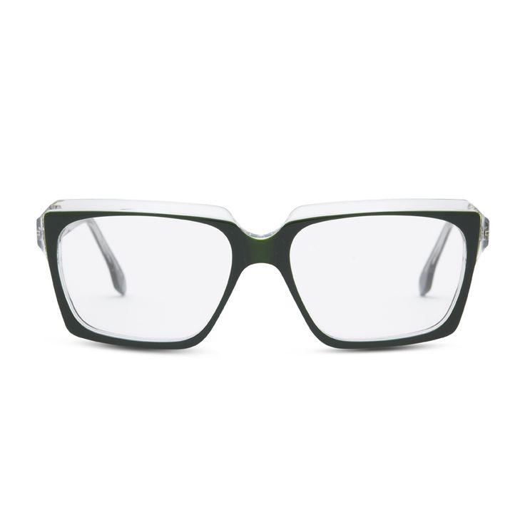 NEW STYLE CG - Hollander in Green- Claire Goldsmith Eyewear - #clairegoldsmith #glasses #eyewear