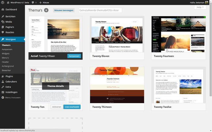 Het 2e deel van de tutorialserie Fotoblog/ website maken met WordPress - Werken met WordPress: opzet, installatie (ook lokaal met XAMPP) en thema's. http://fokkio.nl/werken-met-wordpress-fotoblog-maken-2/ #opzet #installatie #XAMPP #themes