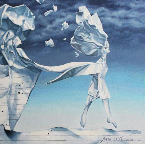 Liza Ray, paintings