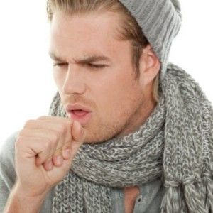 dry throat cough