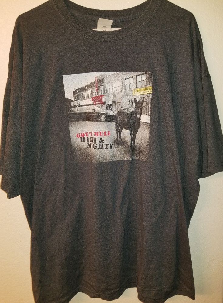 Gov't Mule High & Mighty 2006 Tour T-Shirt Size 2XL #Gildan #GraphicTee