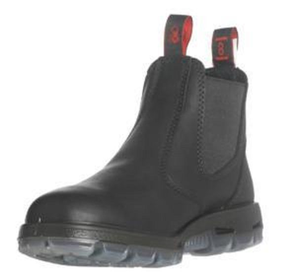 "Redback Boots USBBK ""Easy Escape"" Black Leather STEEL TOE WORK BOOTS REDBACK #Redback #WorkSafety"