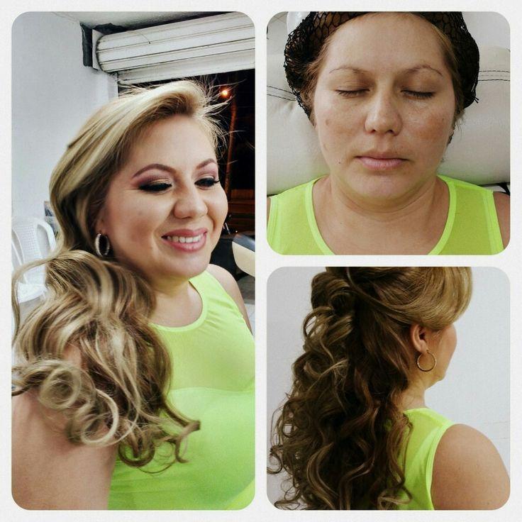 Peinado maquillaje