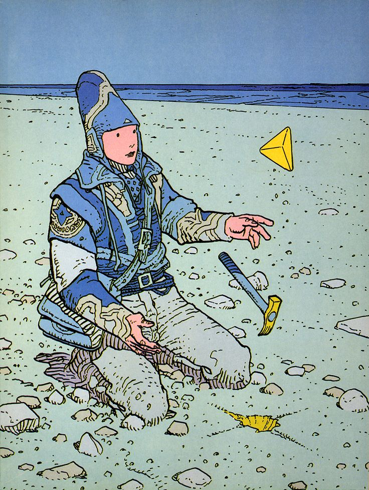 Something so mesmerizing about Moebius' art