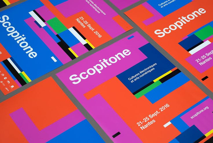 Scopitone Corporate Design by @heytstudio http://mindsparklemag.com/design/scopitone-corporate-design/
