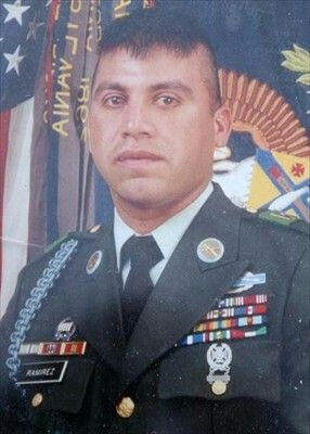 Sgt Christopher Ramirez was killed in April 2004 during combat operations in Iraq. He was awarded the Bronze Star and a Purple Heart.
