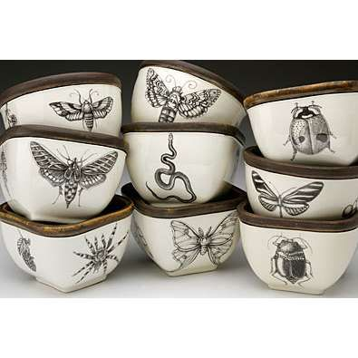 Ceramics by Laura Zindel now available at Thyme and Chance.