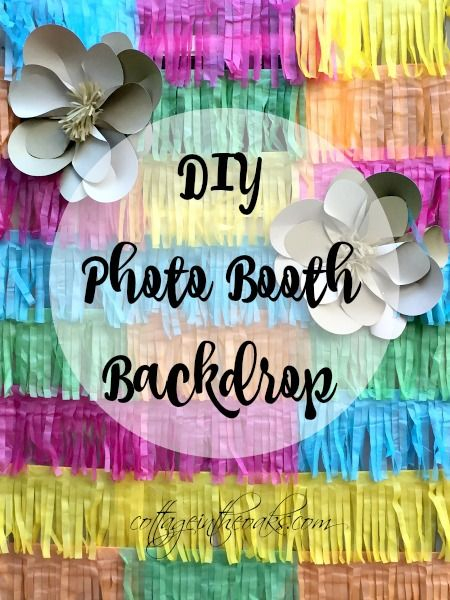 Best 25 Diy Photo Booth Backdrop Ideas On Pinterest